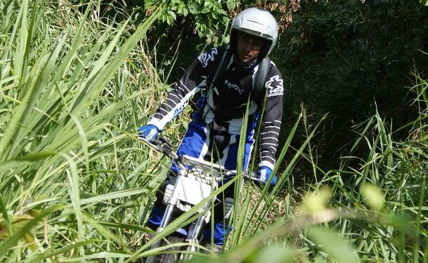 Aventure tropical en moto trial hors des sentiers