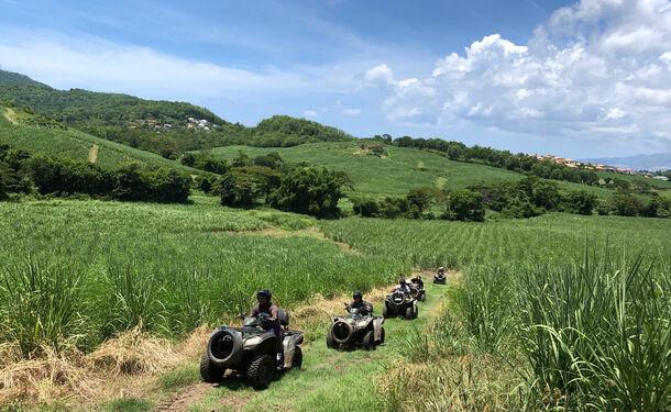 Aventure tropicale en quad hors des sentiers