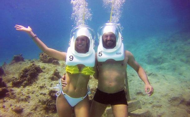 Marcher sous l'eau ? Une excursion hors du commun !