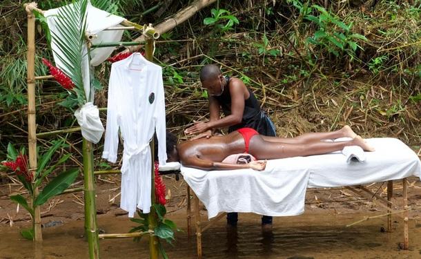 Spa éphémère en pleine nature tropicale (duo)