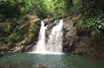 Randonnée fraîcheur aux 2 cascades de Didier