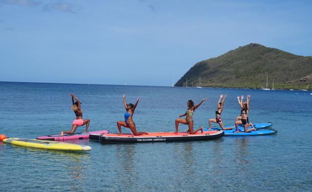 Paddle Yoga, une activité bien-être insolite