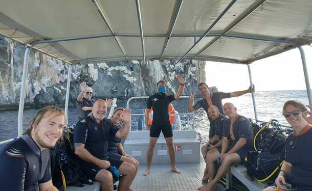 Escapade plongée en mer des caraïbes (pour diplômés)