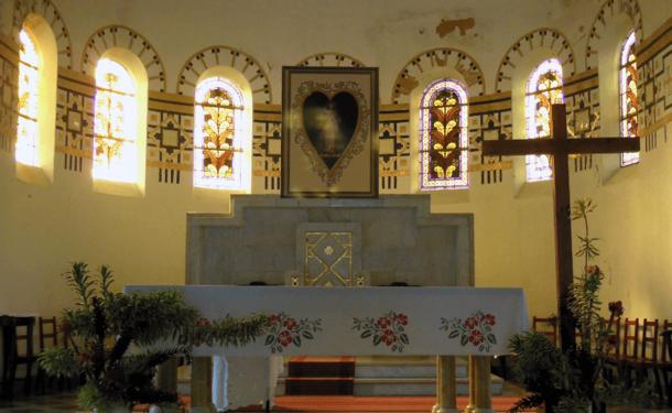 L'Eglise du Sacré Cœur de Balata