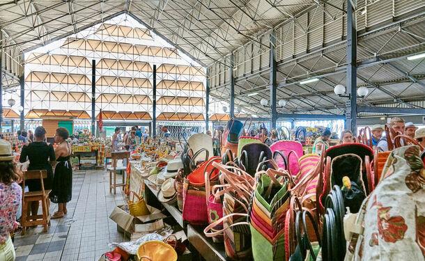 Le marché couvert de Fort-de-France