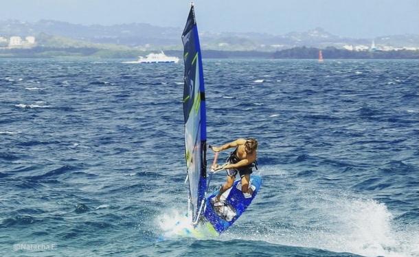 Windsurf  (Planche à voile) dans le sud de la Martinique