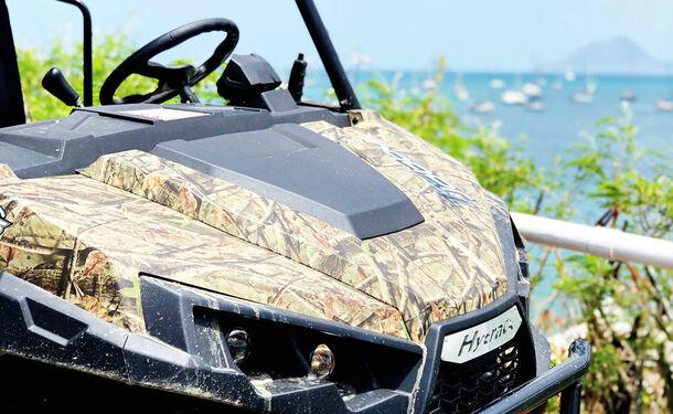 Aventures tropicales en buggy dans le Sud