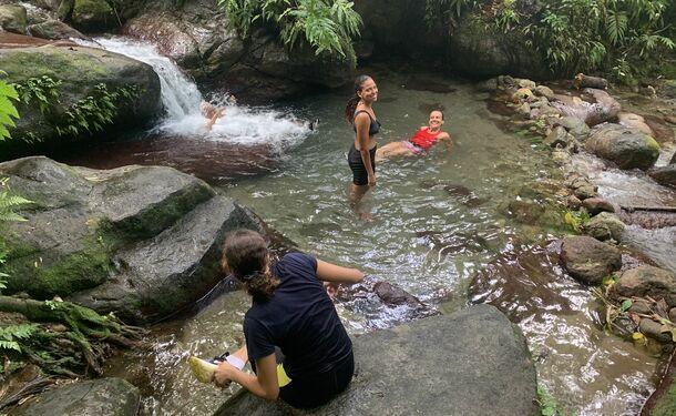 Rando Dlo - Randonnée et baignade à la cascade de l'Alma